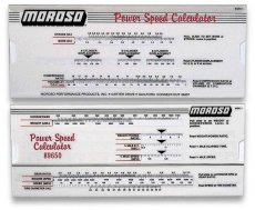 Moroso Power Speed Calculator